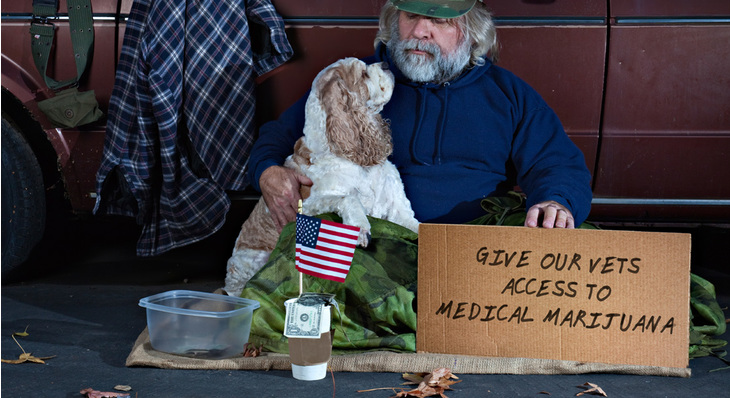 Veterans Denied Access To Medical Marijuana Even In Legal States