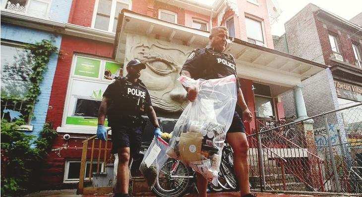Toronto Dispensaries Raided