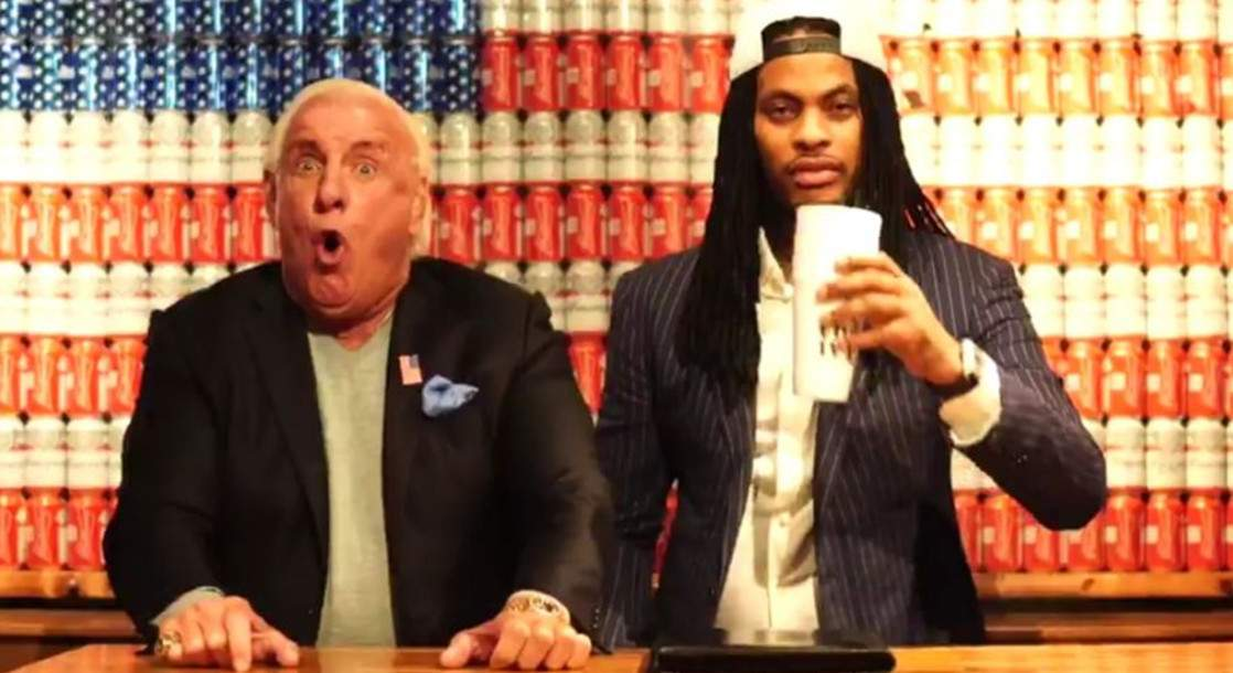 WWE Superstar Ric Flair Runs for President with Waka Flocka as Running Mate