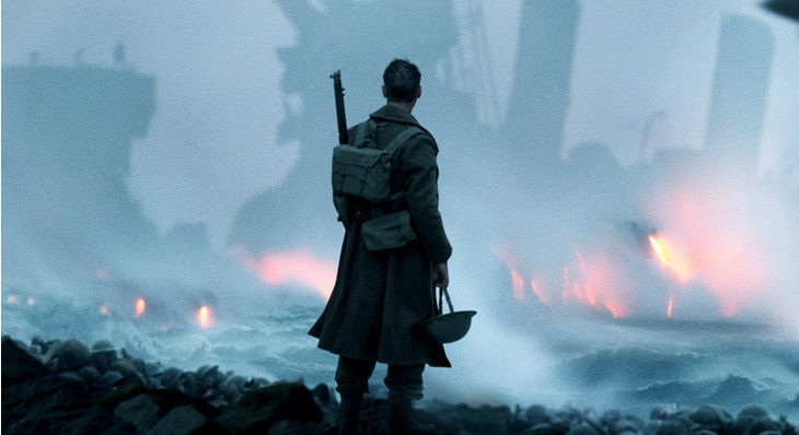 New trailer for Christopher Nolan's WWII epic 'Dunkirk' is stirring and spectacular