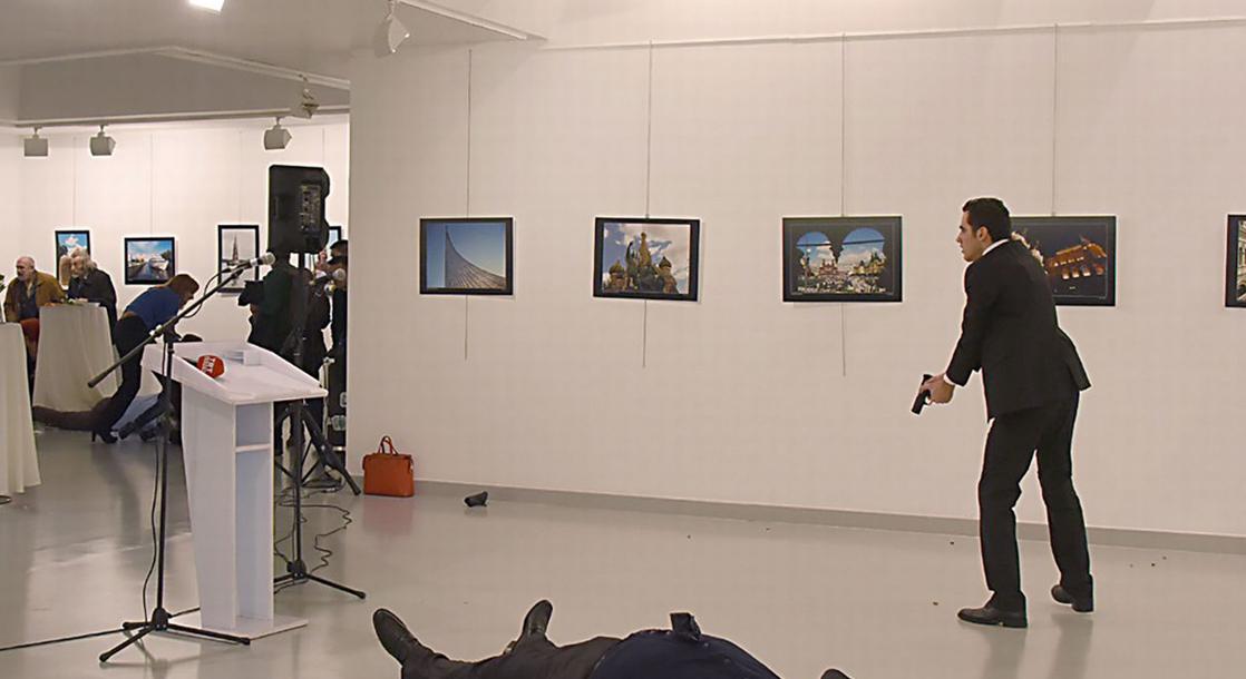 Russian Ambassador to Turkey Andrei Karlov Assassinated in Ankara