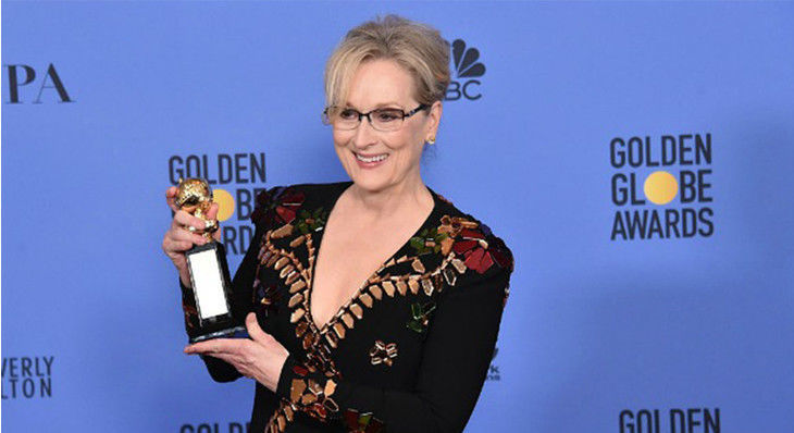 Meryl Streep Took on Trump in her Golden Globes Speech