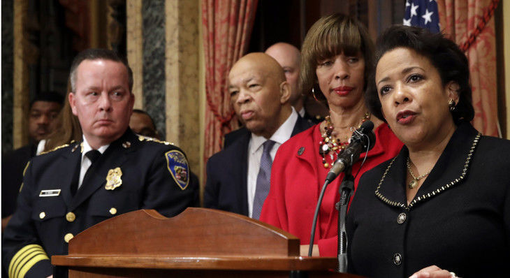 Baltimore Agrees to Police Reforms Imposed by Justice Department
