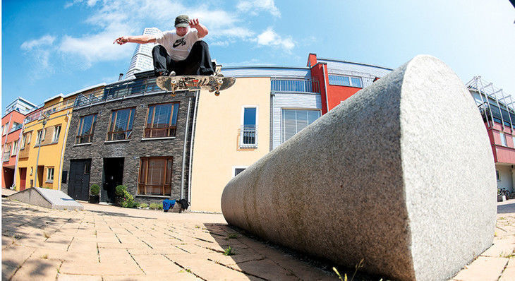 """Don't Call Skateboarder Hjalte Halberg """"Baby"""""""