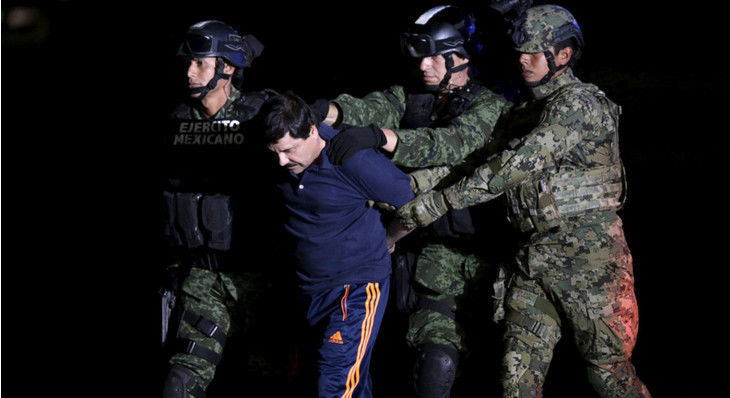 "Sinaloa Drug Cartel Kingpin ""El Chapo"" Extradited to the US"