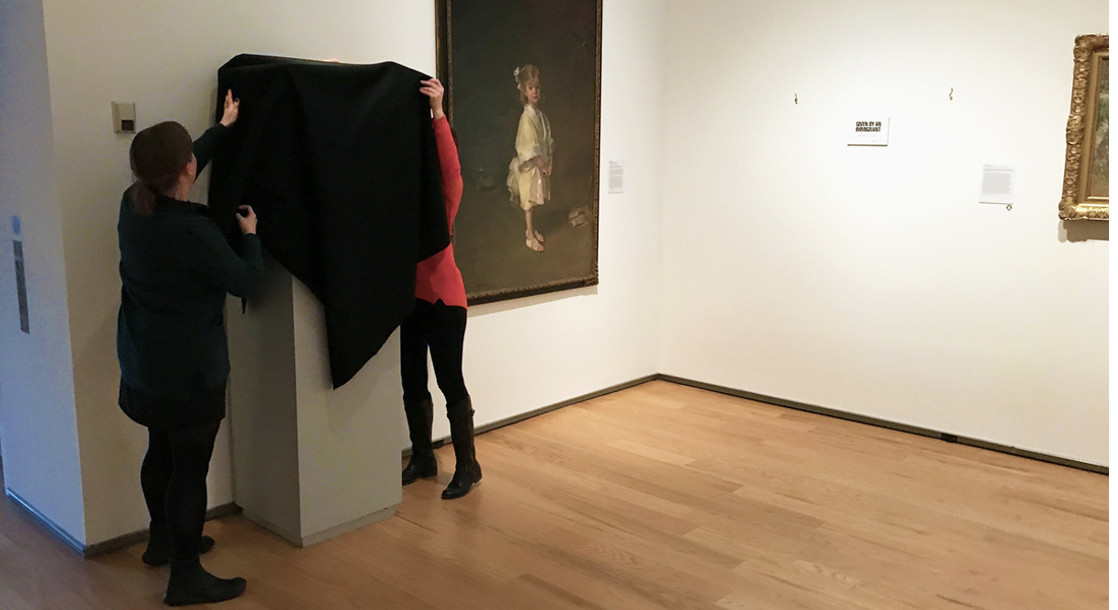 Davis Museum Protests Travel Ban by Removing 120 Works of Art Created or Donated by Immigrants
