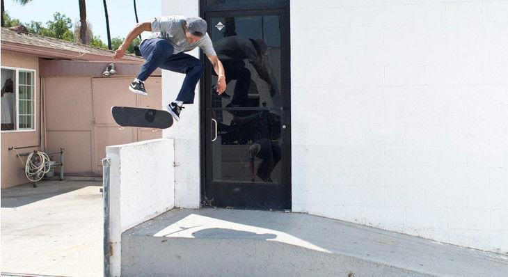 Carlos Ribeiro Definitely Knows How to Skate the Ledge