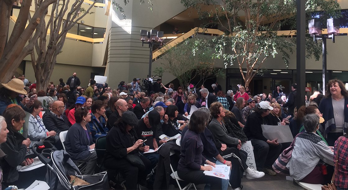 Town Hall Meetings Are Rowdy as Hell in the Trump Era