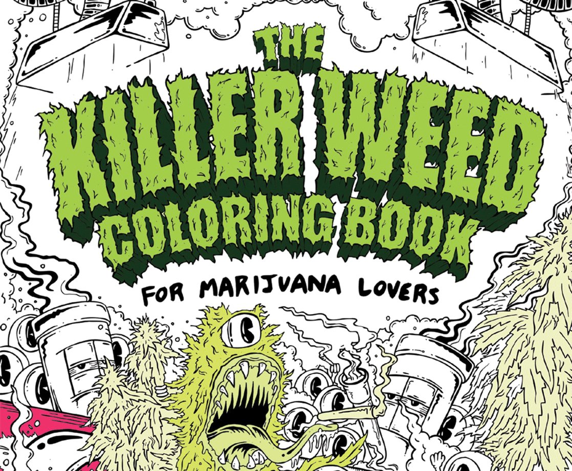 Meet the Artist Behind the Trippiest Weed Coloring Book for Adults ...