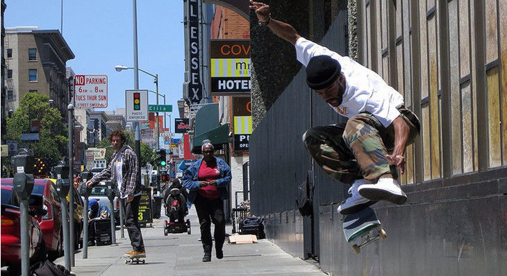 """The GX1000 Squad Is Addicted To Skateboarding in """"Adrenaline Junkie"""""""