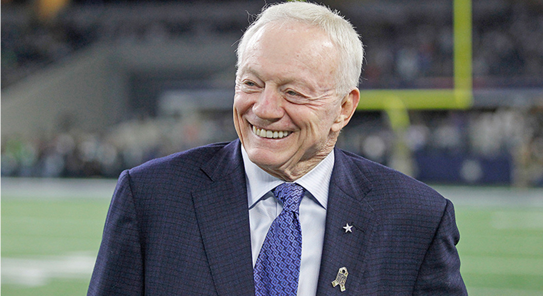 Jerry Jones and the NFLPA Both Want Marijuana Leniency, But Not For the Same Reasons