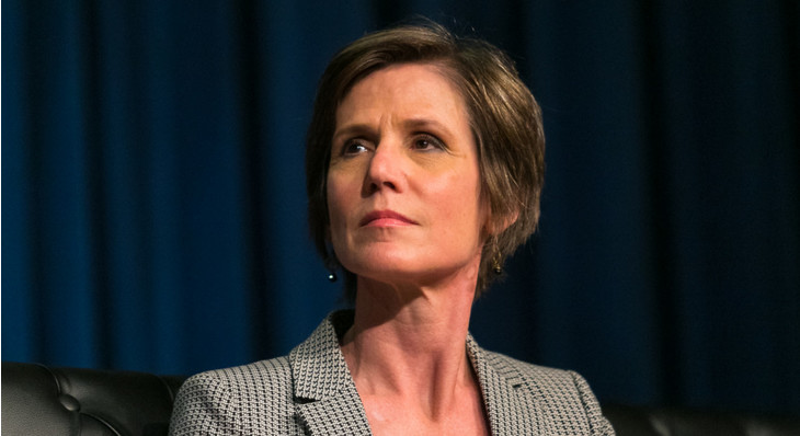 Former Deputy Attorney General Sally Yates Criticizes Jeff Sessions for Renewed Drug War