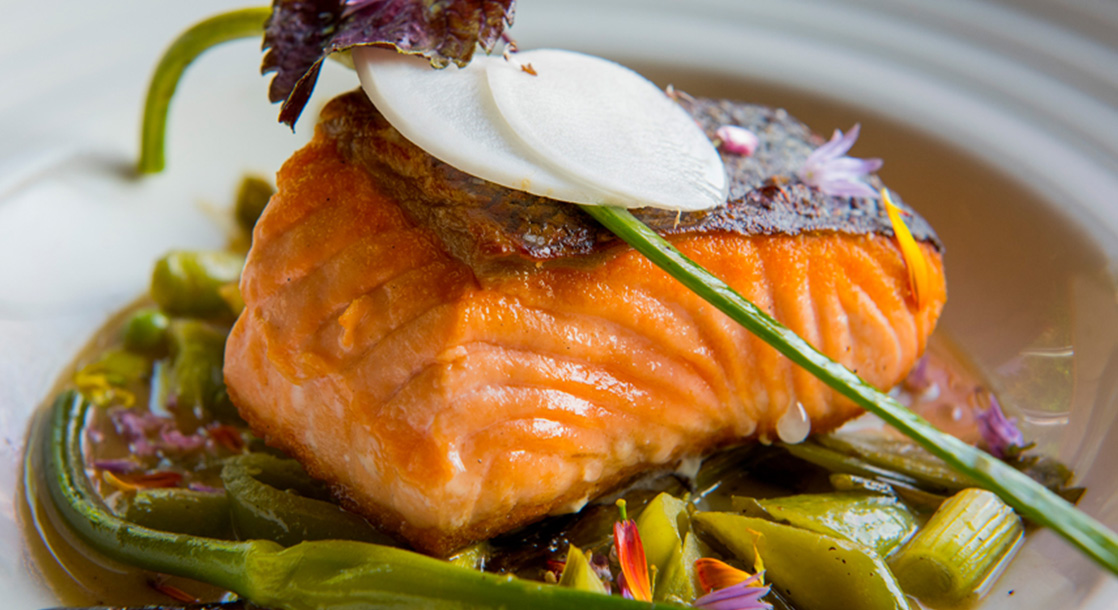 "Baked to Perfection: Chef Leather Storrs' Infused Salmon Recipe Is Like ""Summer on a Plate"""
