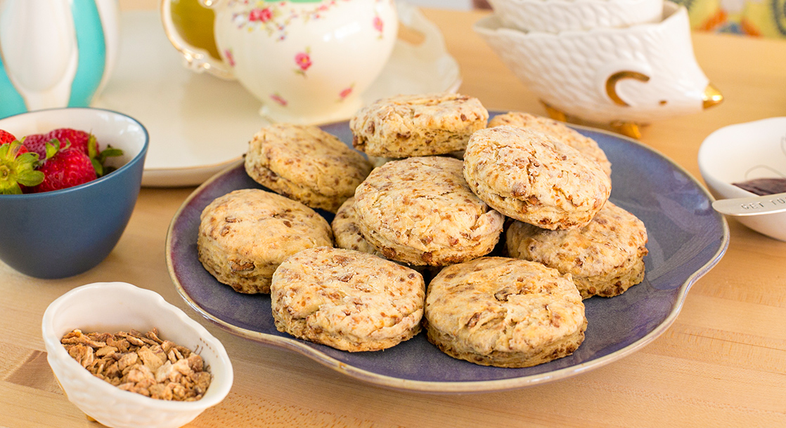 """Baked to Perfection: This Stoned Scone Goes Perfectly With Your """"Tea""""HC"""