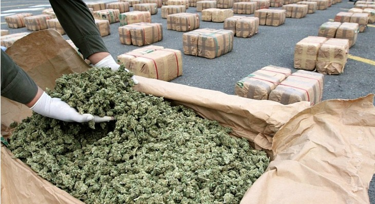 Federal Marijuana Trafficking Arrests Have Been Dropping Steadily Since 2012