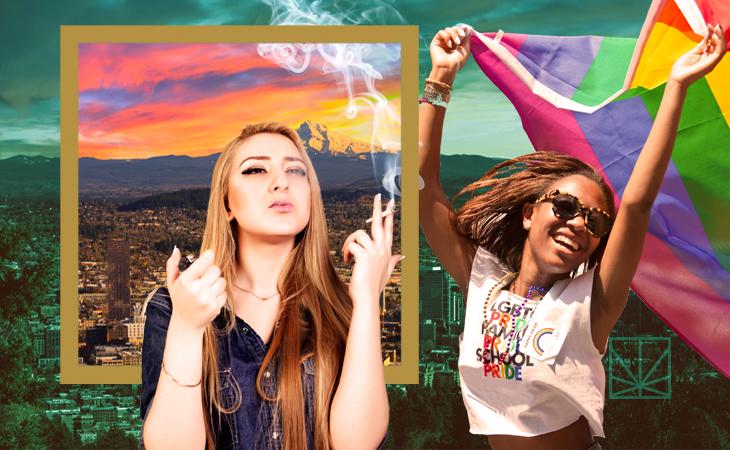 Oregon lesbians