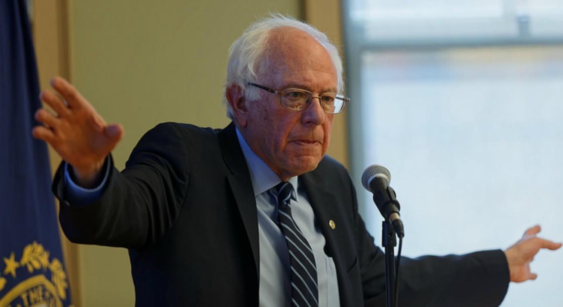 Bernie Sanders Voices Support for NFL Racial Equality Protests, Cites Unfair Marijuana Arrests