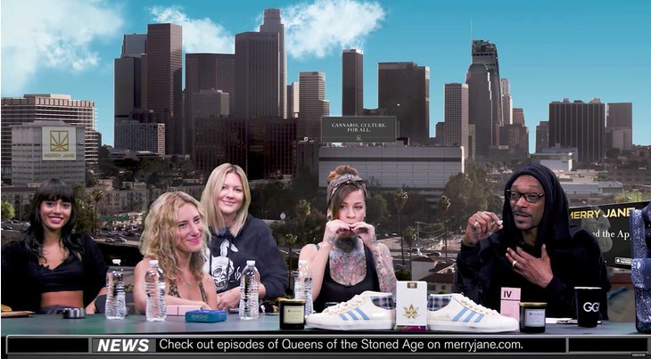 """The """"Queens of the Stoned Age"""" Cast & Snoop Dogg Predict a Pro-Pot Woman President"""
