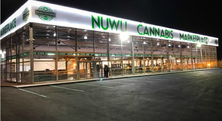 The Native American Paiutes Tribe's New Las Vegas Dispensary Is the Largest Pot Shop in the World