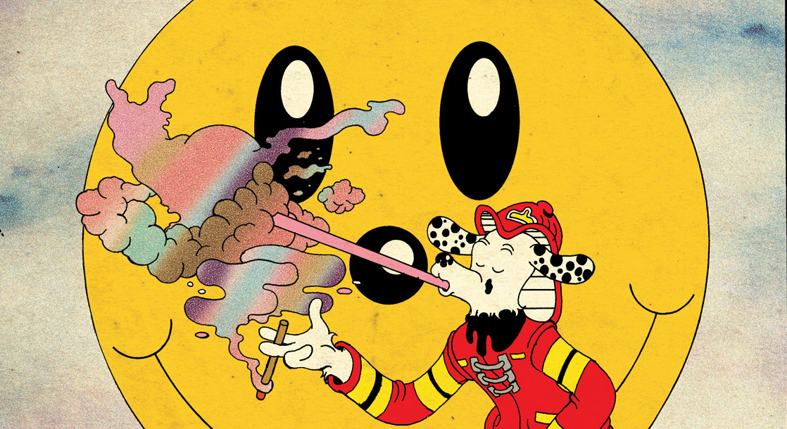 """Frisbee F.D. Plays the """"Marijuana Mask Game"""" in This Week's Comic"""