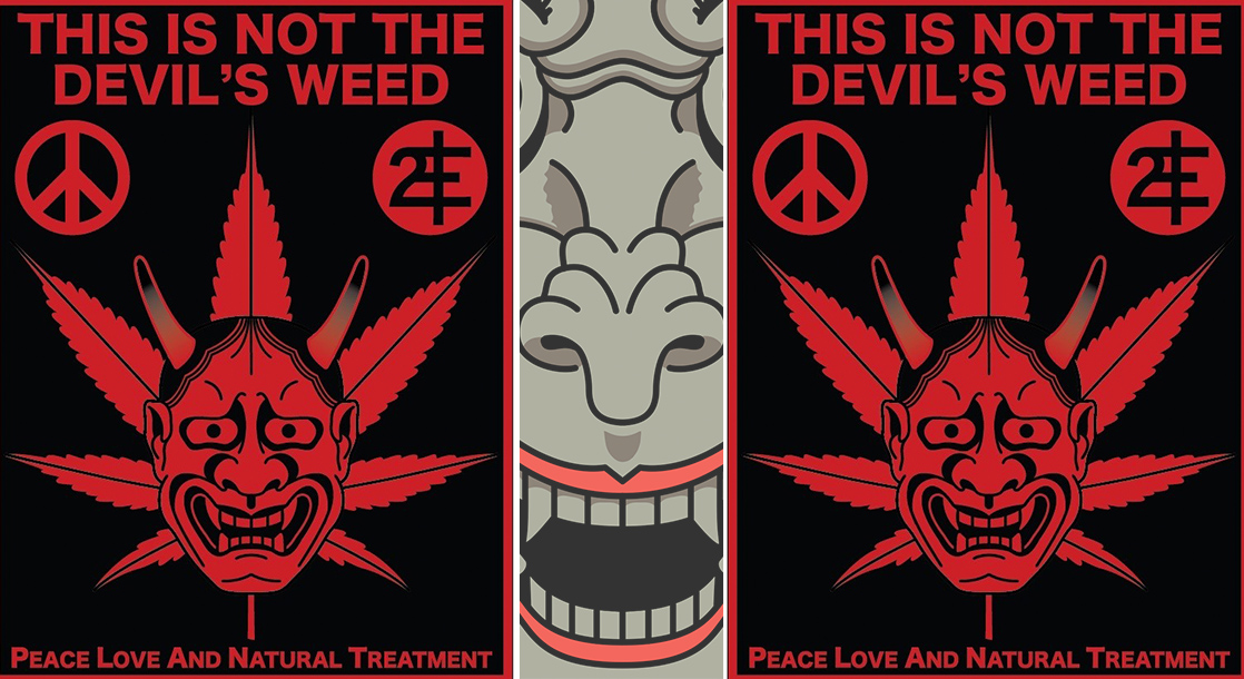"""""""This Is Not the Devil's Weed"""": An Interview with Punk Artist Alex Heir"""