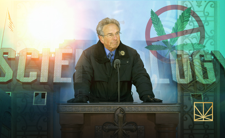 Scientologists Hate Weed, and They Want Everybody to Hate It Too