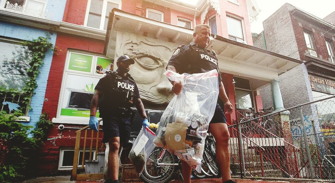 Toronto Dispensaries Raided