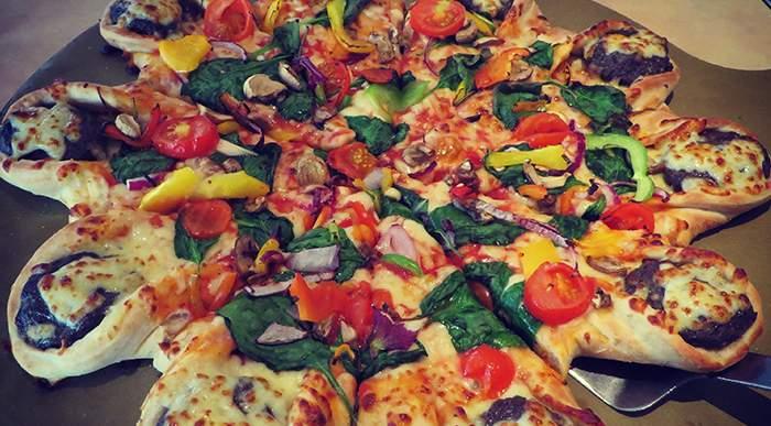 Chain Restaurant Pizzas