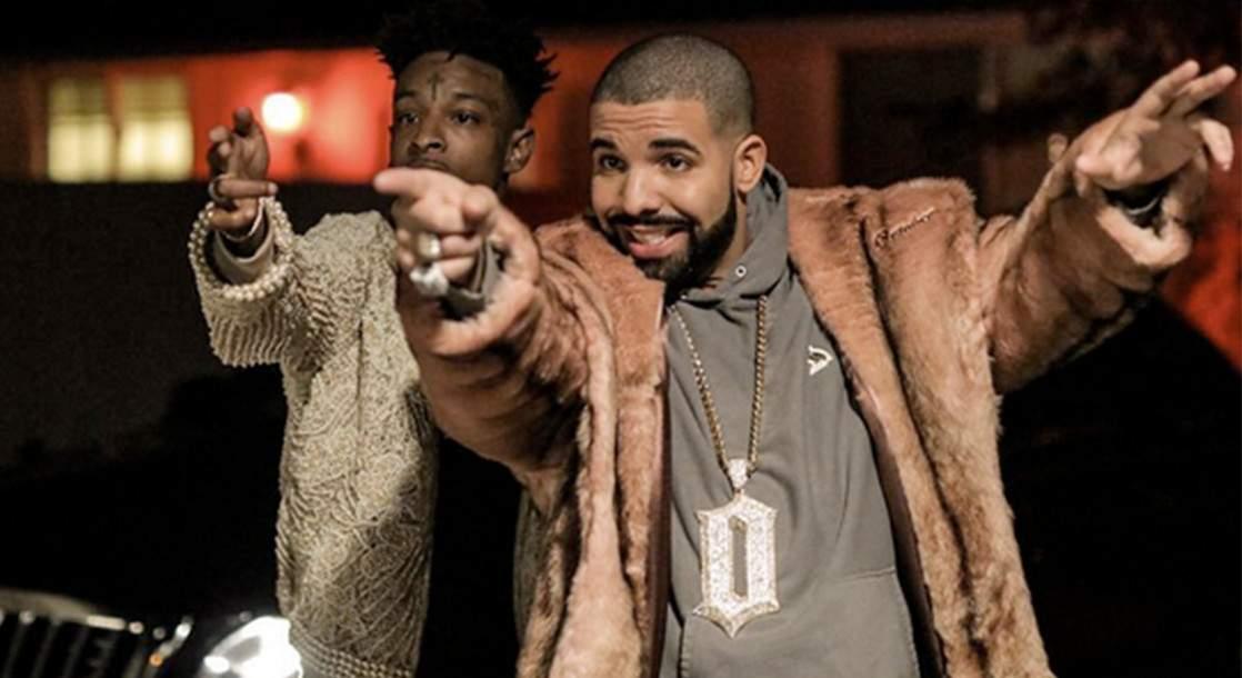 "Drake and 21 Savage Go Lo-Fi in ""Sneakin'"" Music Video"