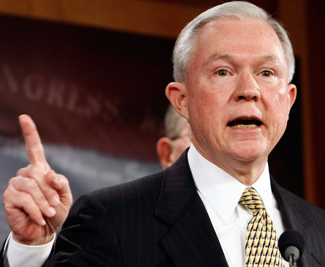 AG Nominee Jeff Sessions Won't Commit to Not Enforcing Federal Marijuana Laws
