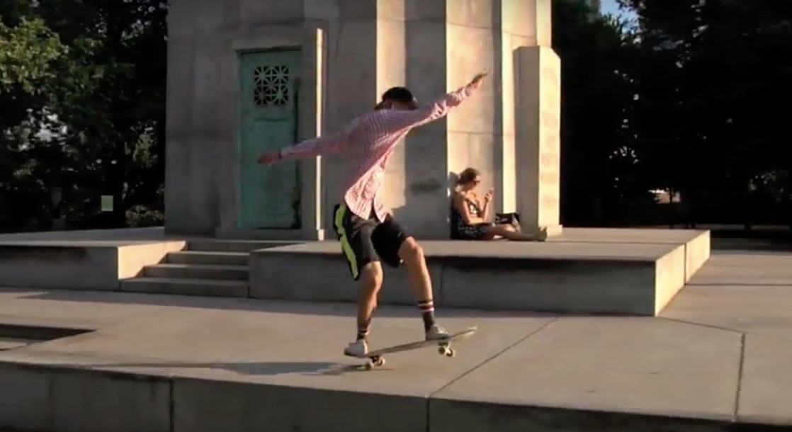 "Watch Frog Skateboards' Incredibly Free-Spirited  ""frog hd (my g)"" Promo"