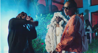 """Juicy J Rolls Up With Wiz Khalifa & Ty Dolla $ign In Hazy Music Video For """"Ain't Nothing"""""""