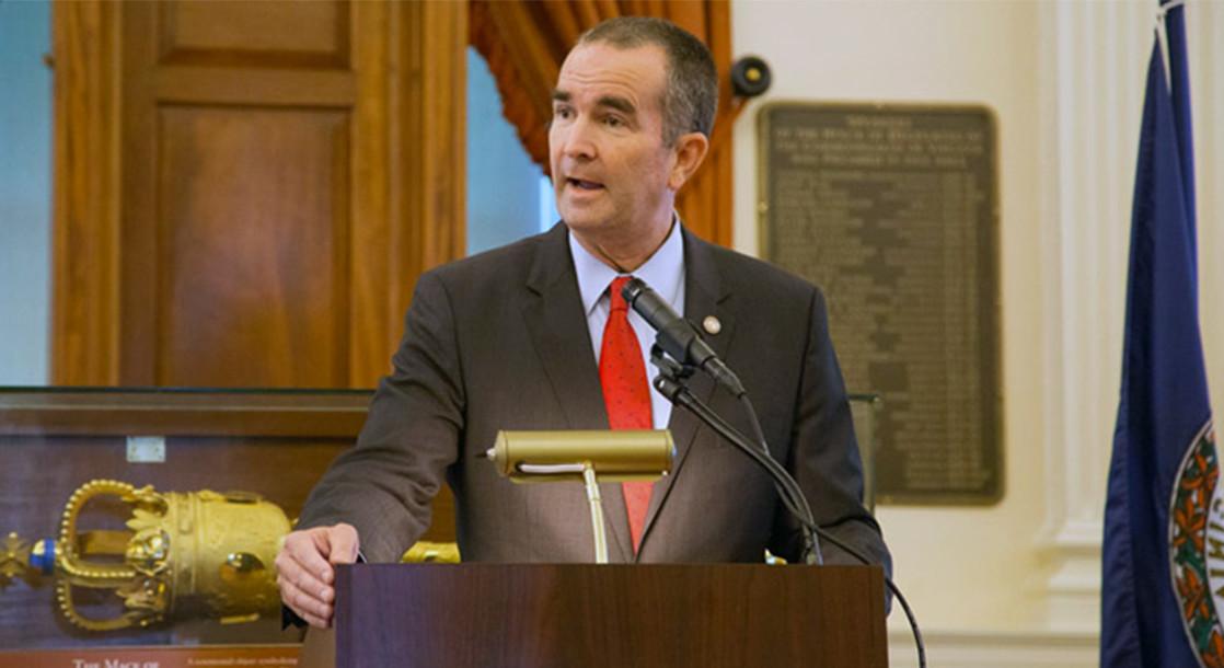 Virginia's Lieutenant Governor Ralph Northam Calls on State to Decriminalize Marijuana Possession