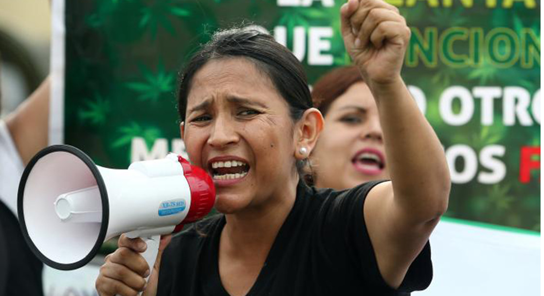 Peruvian Mothers Lead the Fight for Medical Cannabis Legislation