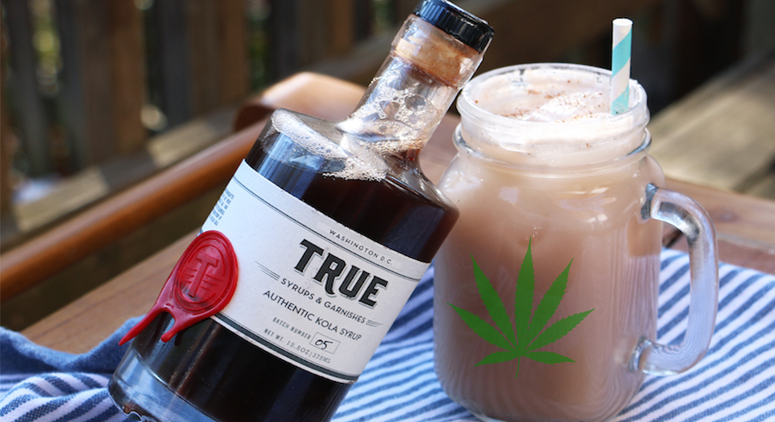 A non-alcoholic (but cannabis-infused) cocktail. All recipes original and provided exclusively to MERRY JANE.