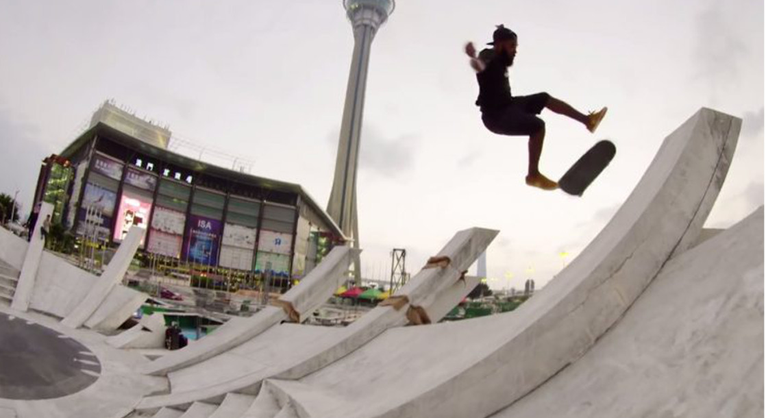 "The New Balance Numeric Skate Team Explores Asia in ""Sankhara"""