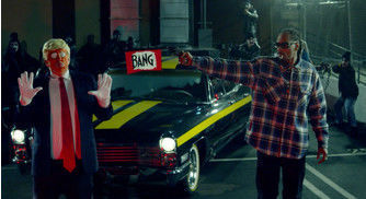 "Snoop Dogg Pulls Gun On Clown Trump in Politically Charged ""Lavender"" Visual"