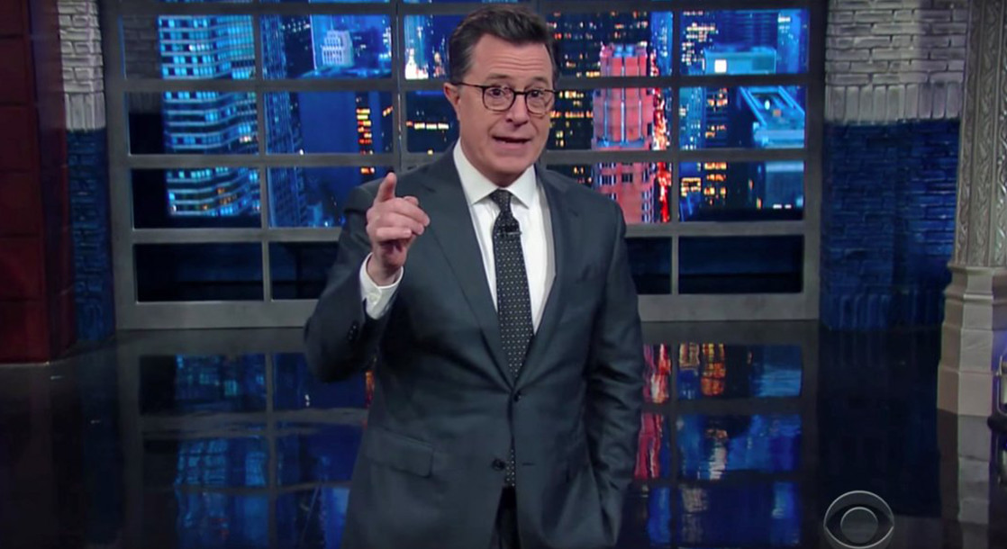 "Stephen Colbert Slams Jeff Sessions' Cannabis Remarks in Hilarious ""Late Show"" Bit"