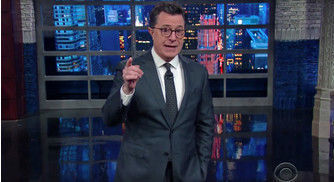 """Stephen Colbert Slams Jeff Sessions' Cannabis Remarks in Hilarious """"Late Show"""" Bit"""