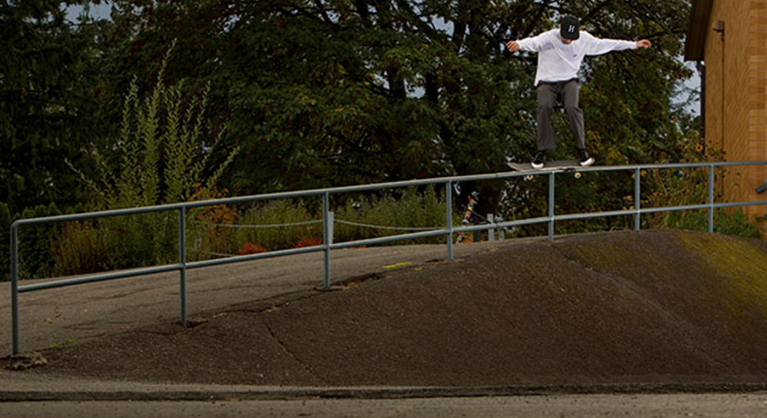 The HUF Squad Visits (and Skates) Oregon