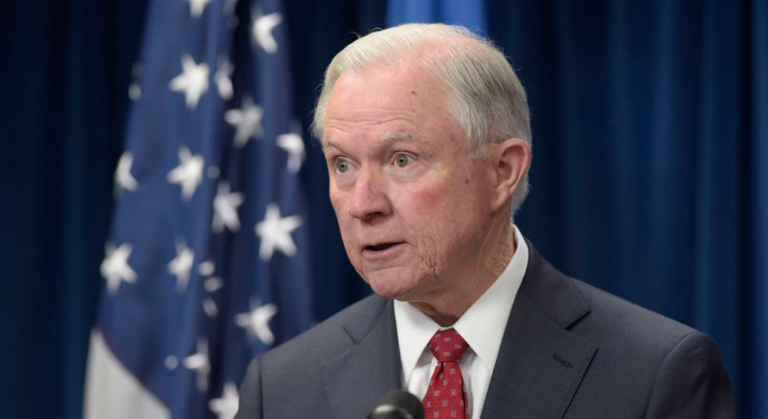 """Jeff Sessions """"Surprised"""" by Public Backlash Over His Anti-Marijuana Stance"""