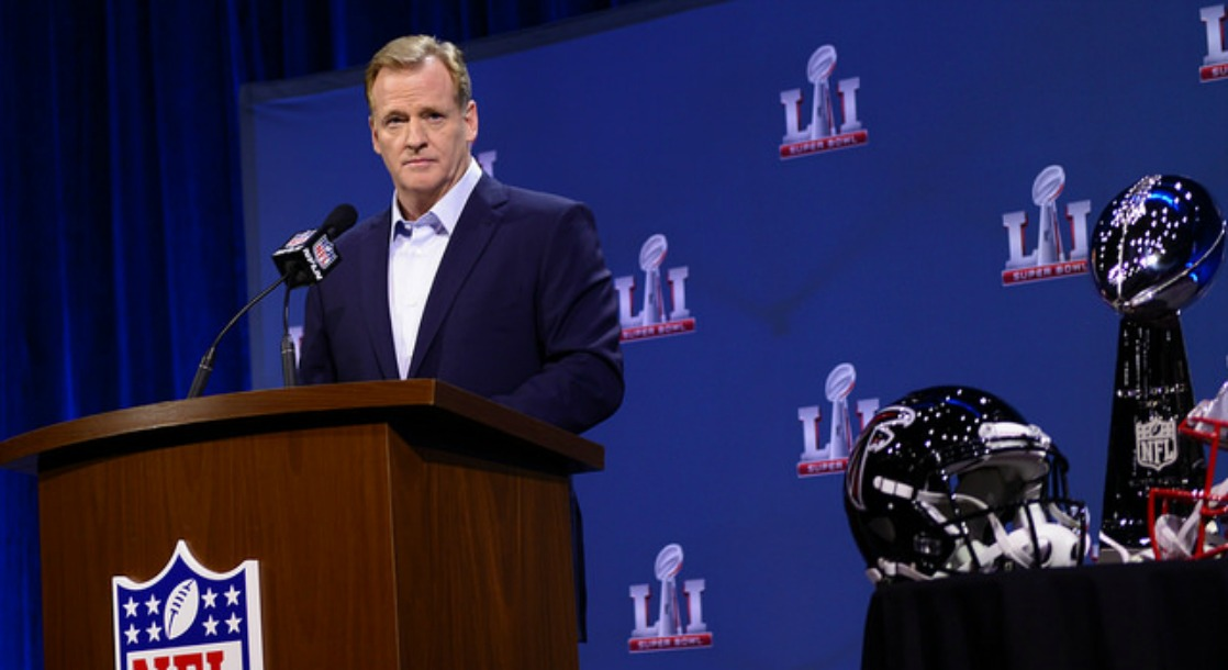 NFL Commissioner Roger Goodell Thinks Cannabis Is Addictive