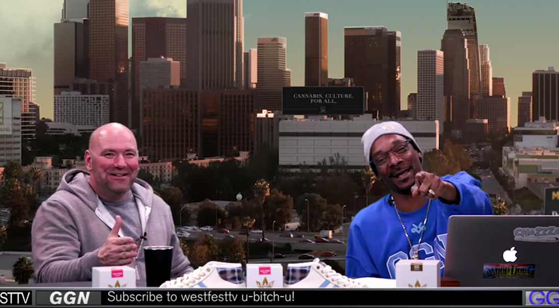Dana White and Snoop Talk UFC, Video Games and Nick Diaz
