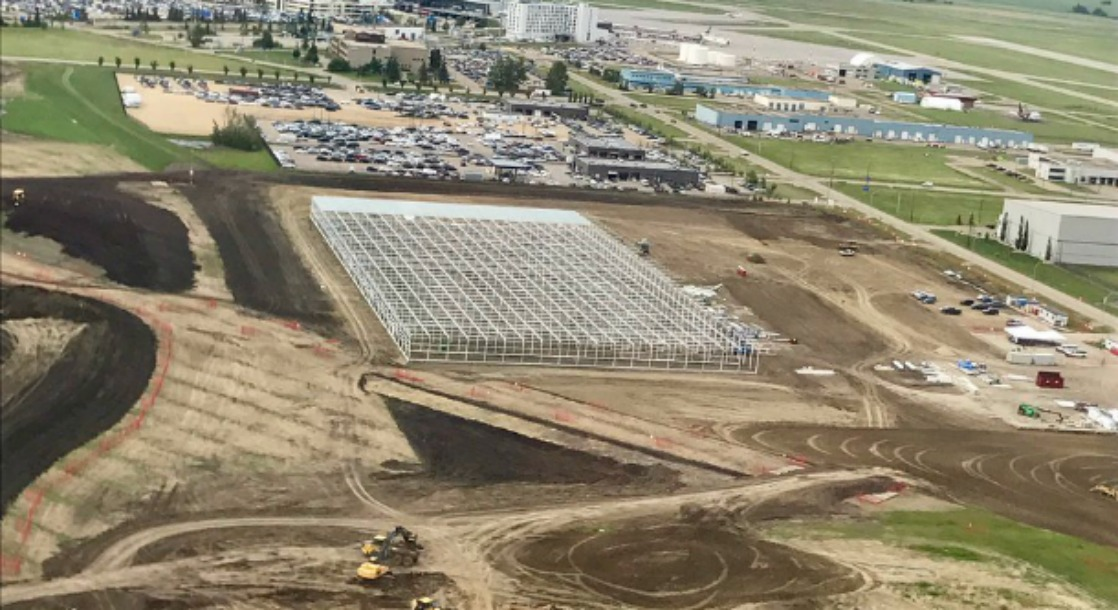 Canada's New 800,000 Square-Foot Greenhouse will Produce Over 200,000 Pounds of Weed Every Year