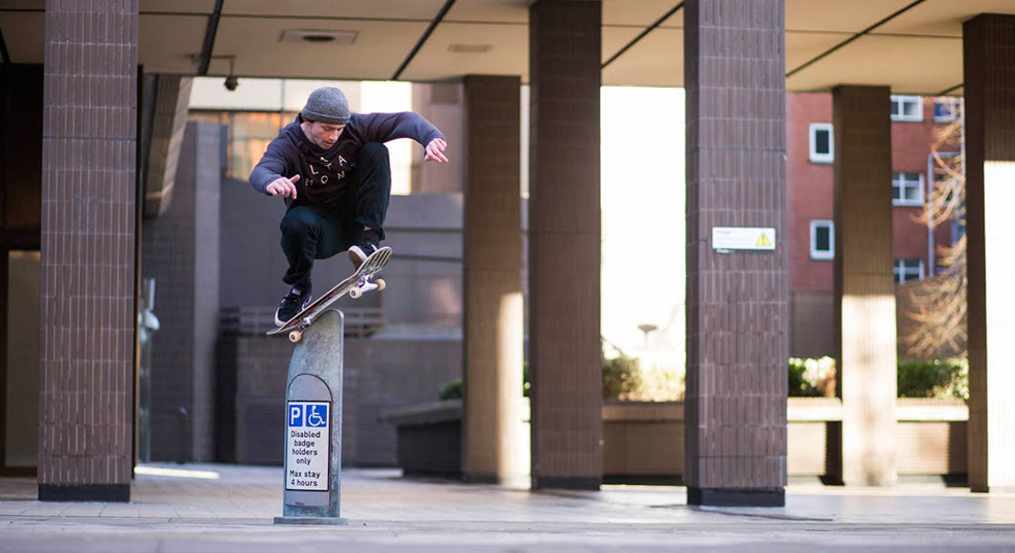 "Mike Arnold's Incredible ""Lloyds"" Part Is Entirely Filmed at a Bristol Amphitheater"