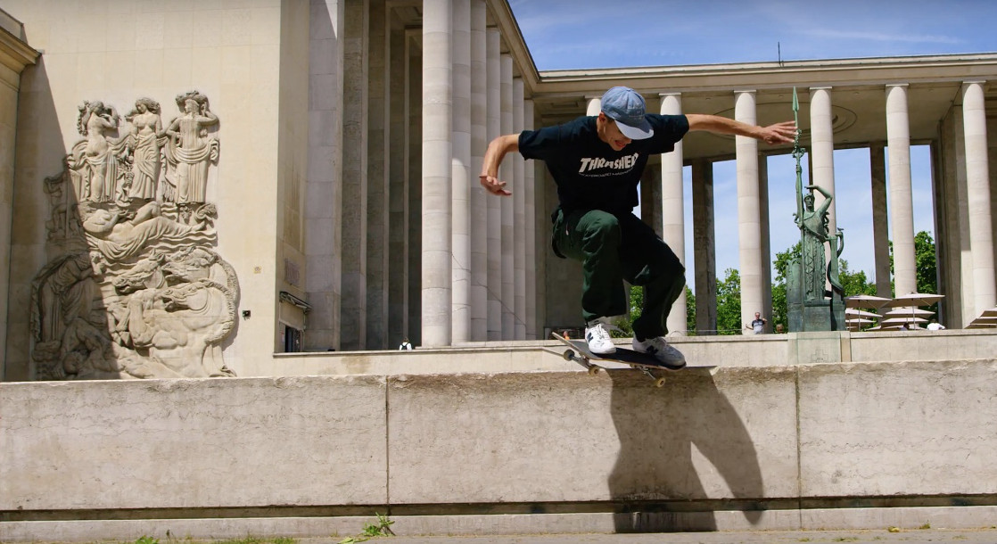 The Latest New Balance Skate Video Is Visually Epic (Times Three)