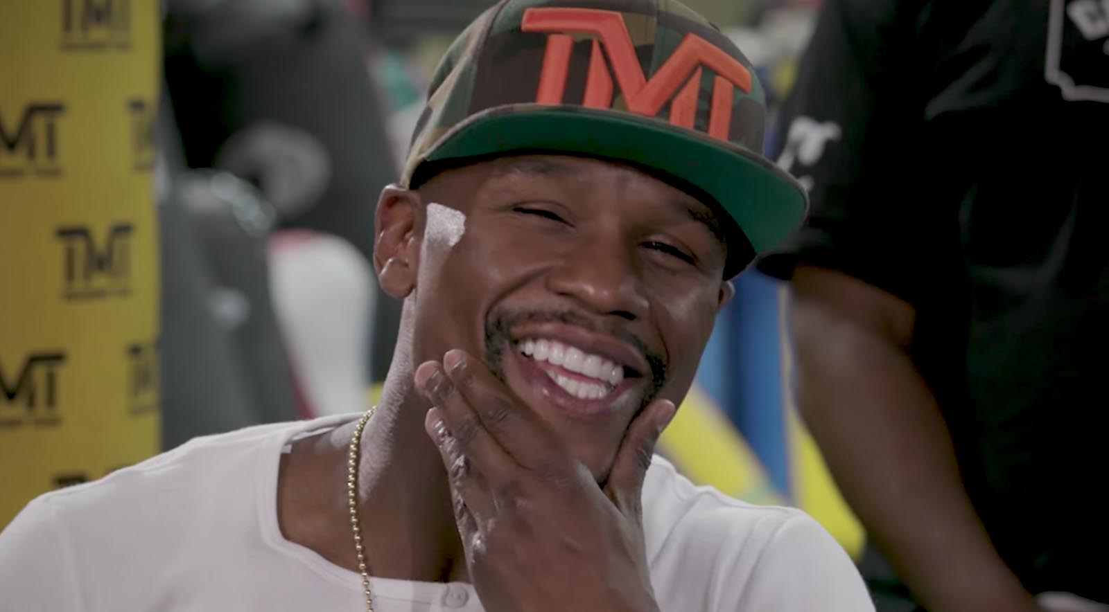 How Much Does Floyd Mayweather Think About Sex Before a Fight?