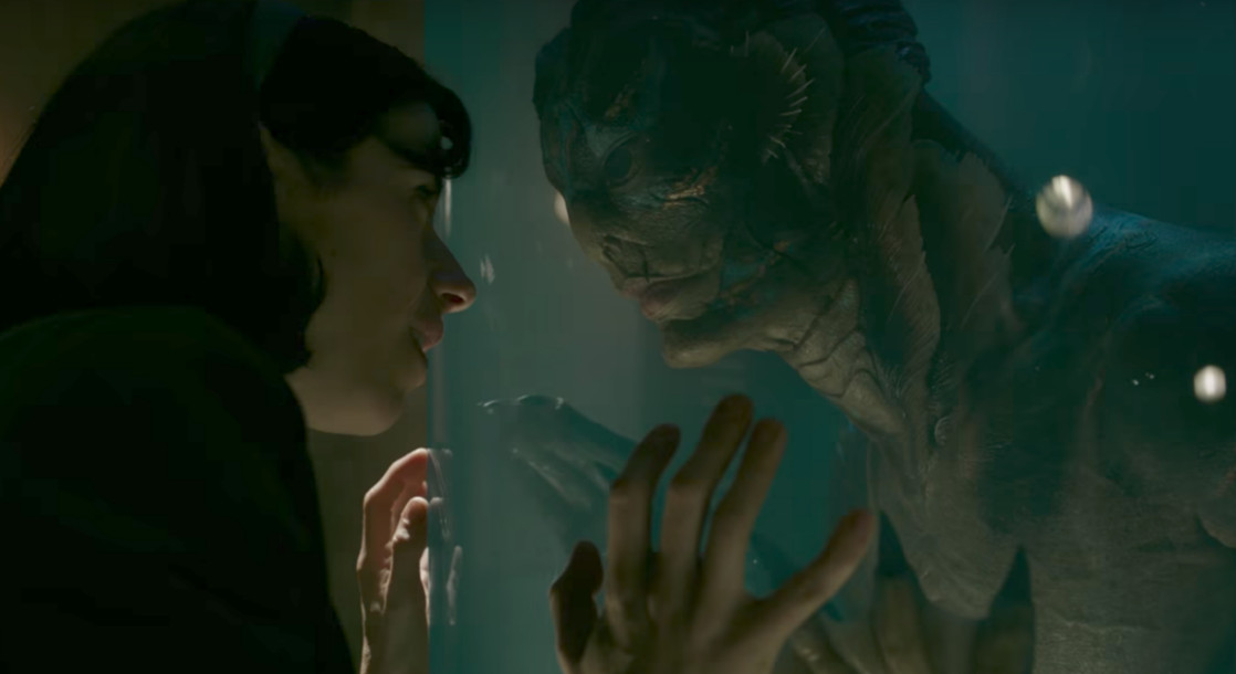 "A Gluteally-Endowed Merman Gets the Girl in ""The Shape Of Water"" Trailer"