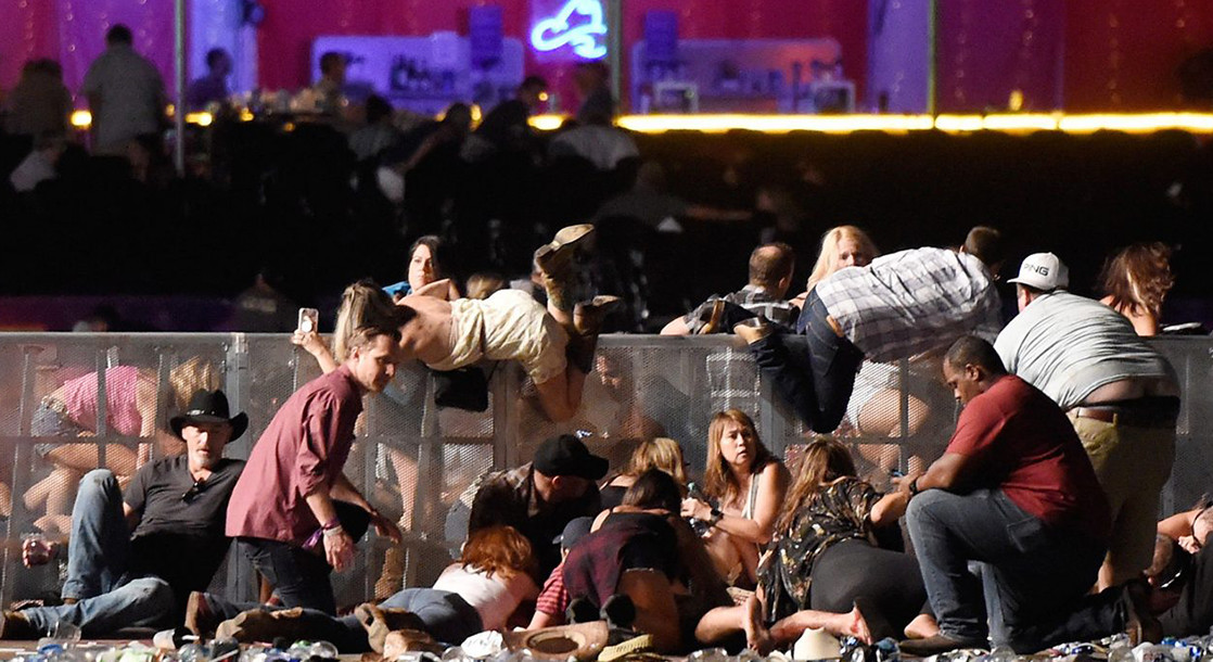 Las Vegas Mass Shooting Leaves at Least 58 Dead, Hundreds More Wounded