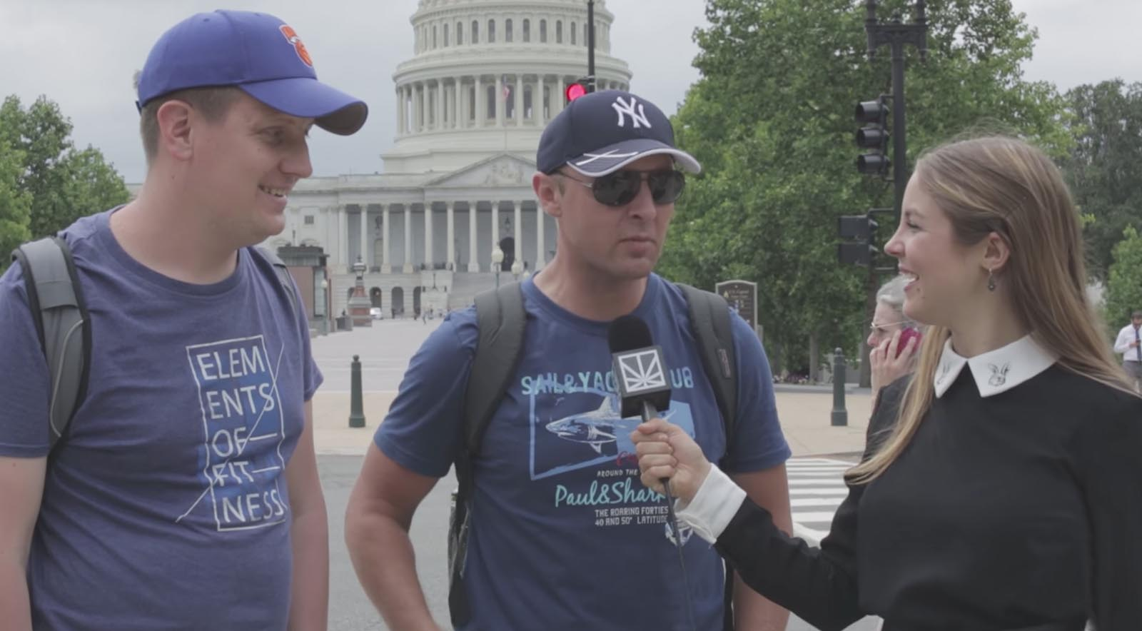 Which Famous Stoner Would You Want For President? D.C. Tourists Weigh In